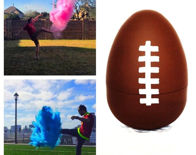 SALE 8 Inch Football Gender Reveal Football (Custom Combinations) Gender Reveal Football Baseball Golf Ball