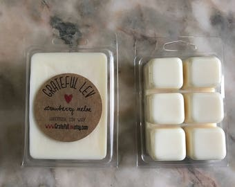Strawberry Melon Scented Soy Wax Melts