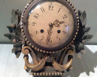 Vintage Swedish Wall Clock Gotene Ljungstroms Urfodrallabrik   *******Antique/Vintage********
