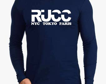 RUCC Long Sleeve Soft Fitted T-Shirt-Midnight Navy