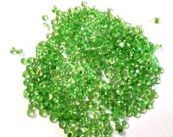 25 pcs Lot 2mm Natural Tsavorite Green Garnet Round Faceted gemstone