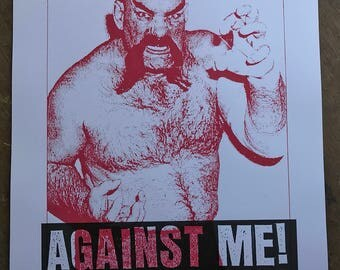 Against Me! gigposter