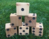 6 cedar yard dice for Yardzee and Farkle