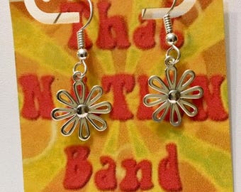 That NATION Band Flower Power Sterling Silver Earrings