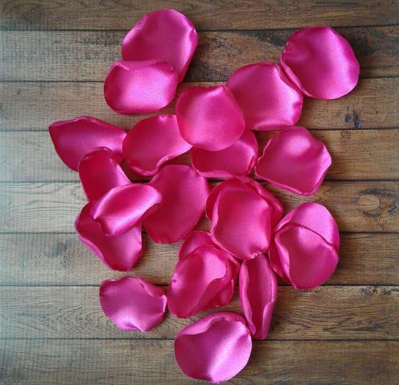 how to make satin rose petals