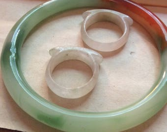 chinese jade rings