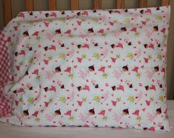 Child's pillowcase, Girl's pillowcase