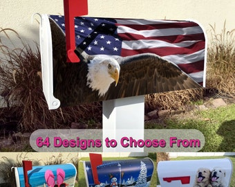 Eagle Flying Magnetic Mailbox Cover
