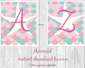 Mermaid instand PDF Downloadable Banner