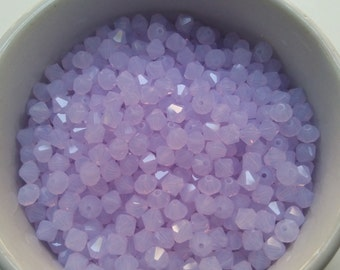 4/5mm Violet Opal Swarovski Bicone 16 Cuts 24/72/144/360/720 Pieces (389)