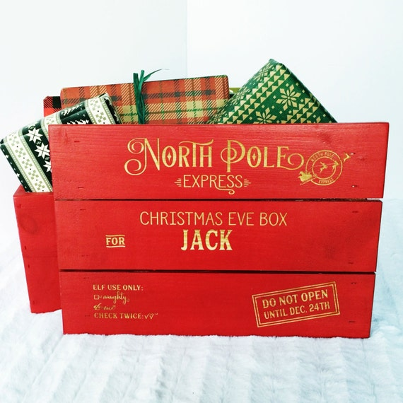 Personalized Christmas Eve Crate
