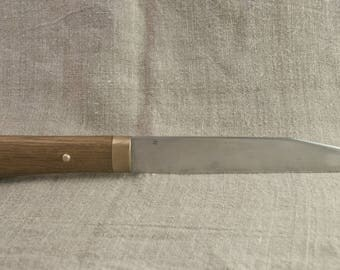 """Hand forged knife """"Seax"""" High Carbon Steel"""