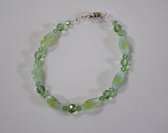 Crystal Green Bracelet