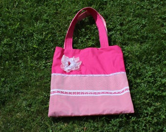 Flower Tote Bag,, Market Bag. Shopping Bag. Book Bag.Canvas Shopping Bag