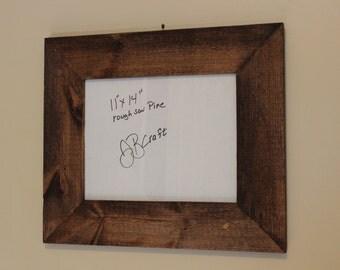 11x14 handmade pine frame