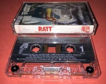 Ratt Reach for the Sky Cassette Tape