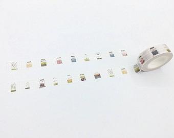 Glass Jar Washi Tape