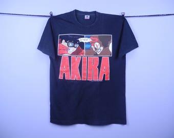 Vintage 80s Japanesse Anime Manga Akira Tshirt | Vintage Anime Kaneda The Clown Akira  Tshirt | Vintage Akira Fashion Victim Ltd 80s Tshirt