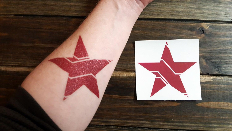 Bucky Badger Temporary Tattoo Www Picsbud Com