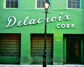 New Orleans, New Orleans Landmark, New Orleans Photography, New Orleans Art, New Orleans Prints, Delacroix, Vintage New Orleans, NOLA photos