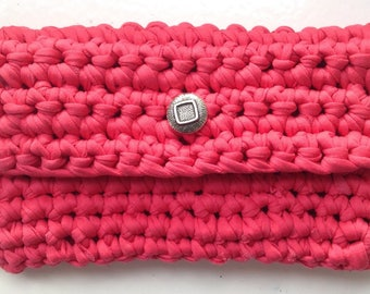 Clutch crochet bag