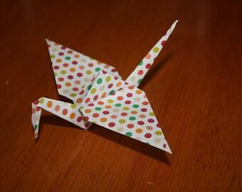 20 Origami Crane Wedding Favors Bright Colors BC1/4