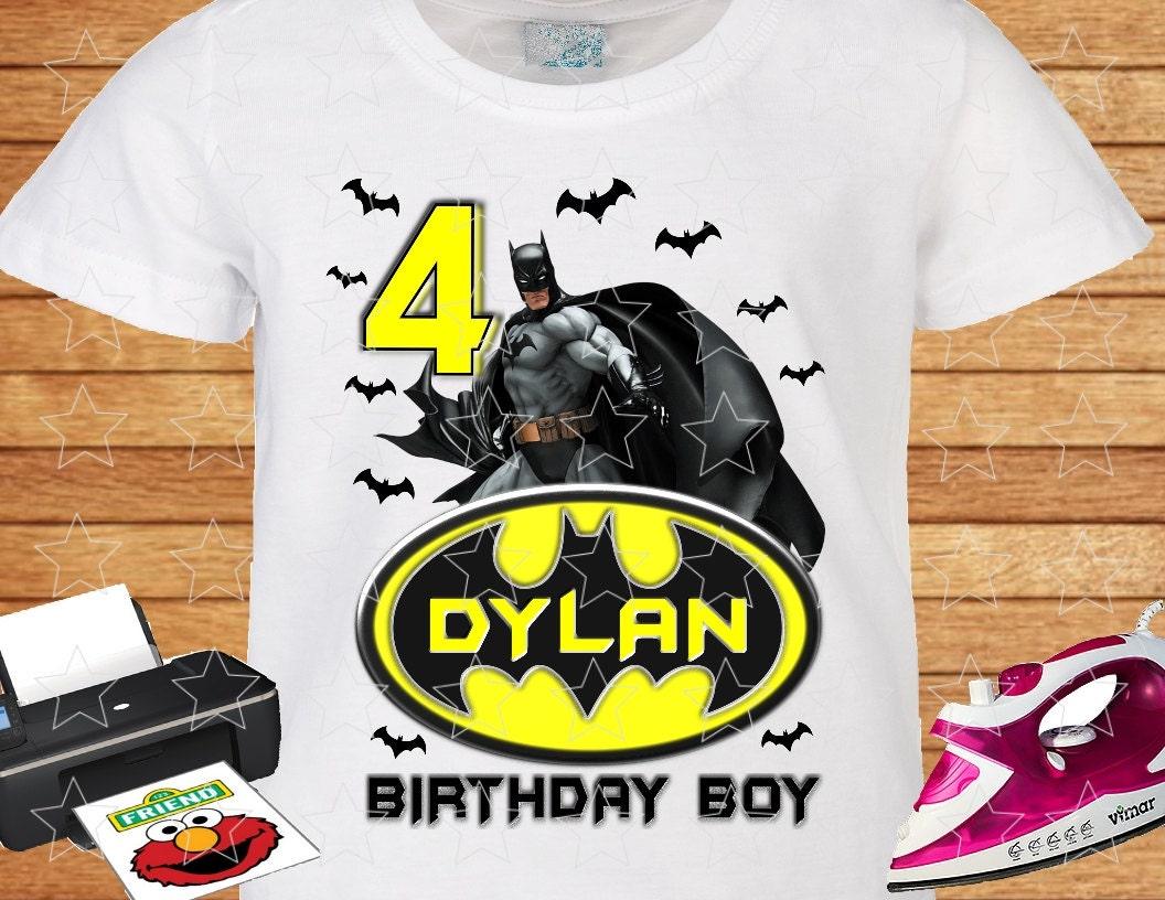 Design your own t-shirt birthday party - Any Name And Age On T Shirt Birthday Boy Birthday Party Personalized Family Birthday Shirts Custom T Shirt Iron On Transfer