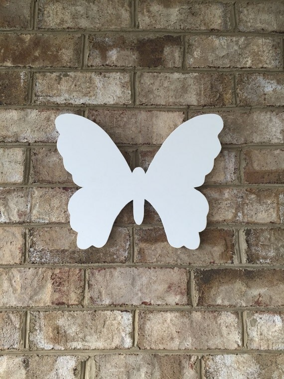 Butterfly cut from PVC wood. It is maintenance free for outdoor garden  or indoor wall decor.