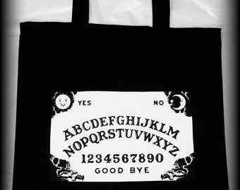 Ouija Board Bag, Ouija Board, Ouija Board Tote, Ouija Board Purse, Occult bag, Satanic Bag, Ouija Board Clothing, Horror Bag, Horror