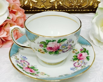 Salisbury teacup and saucer.
