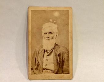 African American Carte de Viste Photograph, Ca: 1870s.