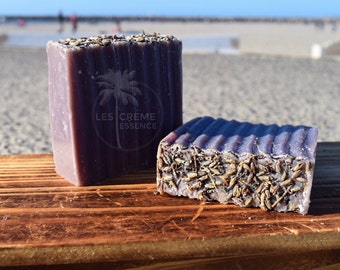 All Natural Lavender Soap, All Natural Soap, Homemade Herbal Soap, Coconut Milk Soap, 4.5oz