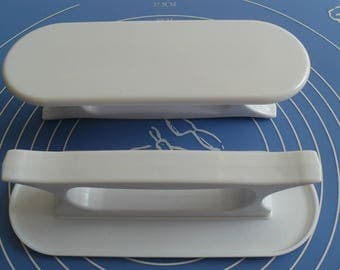 Hair straightener to dough in sugar professional & Amande bakery 7.5 x 21 cm Cake Design