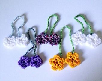 Bookmarks - Handmade flower bookmarks