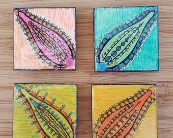 Fruit Magnet Set