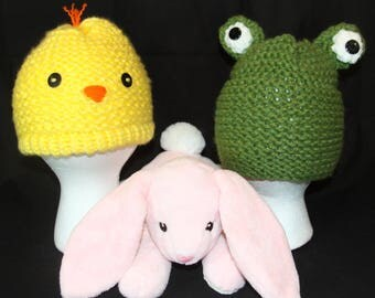 Easter chic and frog hats (one size)