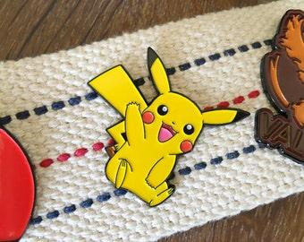 Pokemon Soft Enamel Pin - Pikachu Enamel Pin