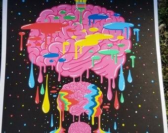 Ms Wearer's Psychadelic Bulb Brain