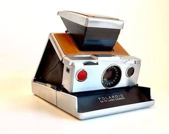 Original Polaroid SX-70 Alpha One Folding Instant Film Camera, 1970's