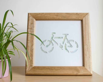 Bike Cut Out Mount and Frame