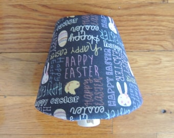 Easter Night Light With Bunnies, Easter Eggs, Chicks, And Pastel Colors And On & Off Switch - 5 Watts Bulb