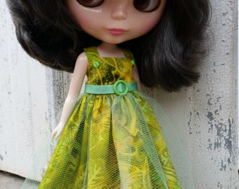 Blythe dress - Bali Breeze - Green