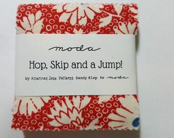 Skip, hop and a jump! mini charm pack by Moda