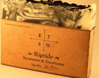 Rip Tide / Spearmint and Eucalyptus Soap