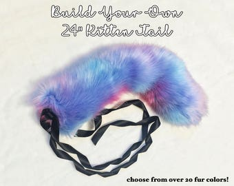 "Build Your Own 24"" Kitten Tail"