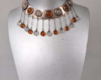 "Vintage choker necklace ""Dream from France"", 1960s"