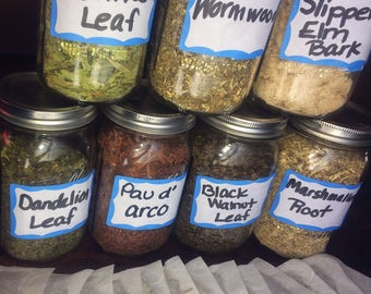 Herbal tea, Tea, Loose Leaf Tea, Cut and sifted, Herbal Teas, Dr Sebi, Alkaline, Tea Gifts, Tea Party, Health, Health and Wellness, Herbs