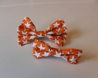 Alex Dog Bow Tie - Orange