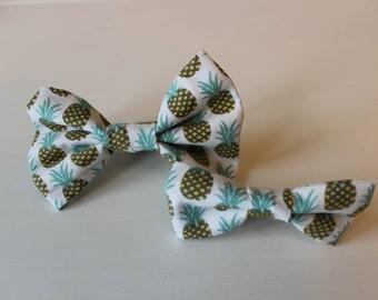 Pina Colada Dog Bow Tie