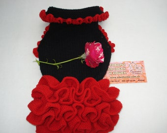 "Dress ""Carmen"" for a dog or a cat"